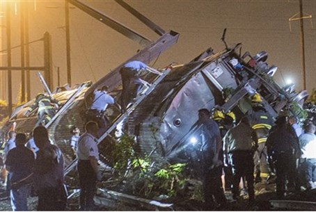 Train crash near Philadelphia