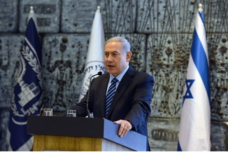 Netanyahu at memorial ceremony for Eli Cohen