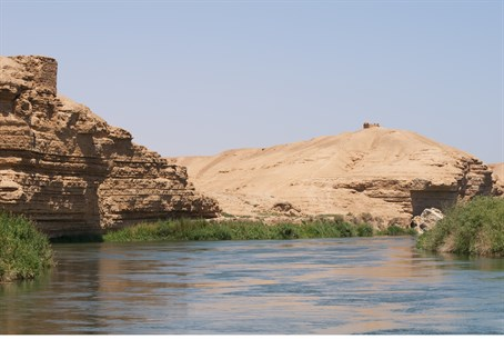 Euphrates River in Syria (file)