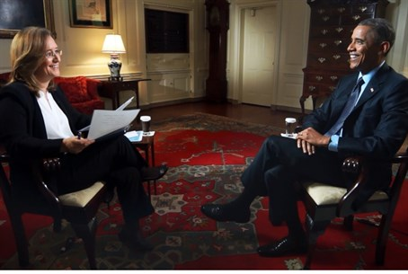 Obama speaks to Israel's Channel 2