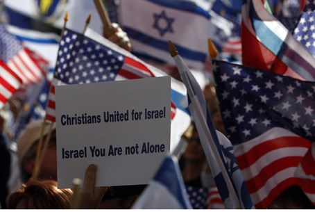 Christian pro-Israel rally (file)