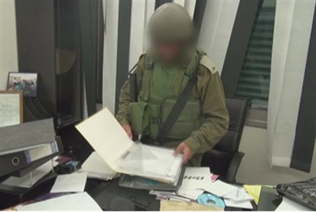 IDF in terror arrest.