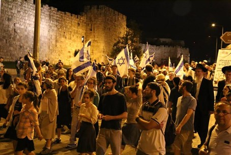 """Marching for sovereignty"" in Jerusalem"