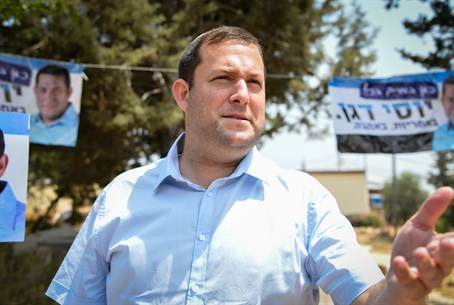 Yossi Dagan on election day