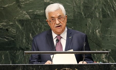 Abbas at UN (file)