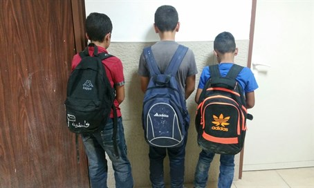Three arrested children