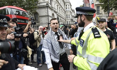 Illustration: Anti-Israel protesters in London (archive)