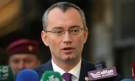 UN Middle East envoy Nickolay Mladenov