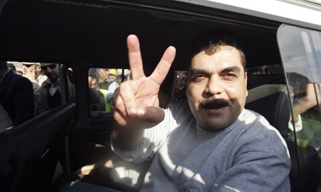 Samir Kuntar during his 2008 release