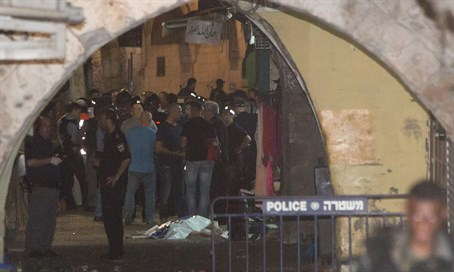 Police secure site following Jerusalem attack