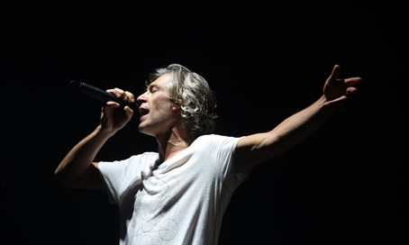 Matisyahu performs at Sultan's Pool