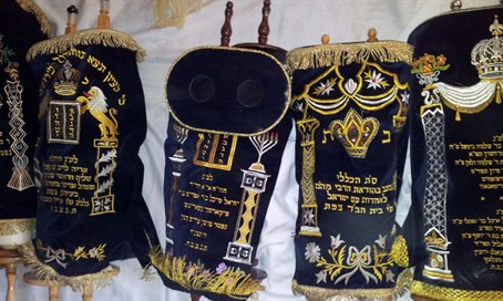Torah scrolls (illustrative)