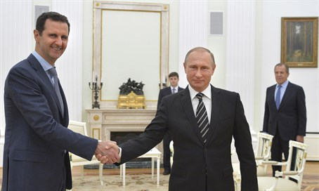 Russian support has been key in propping up the Assad regime