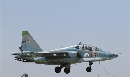 Russian warplane (file)