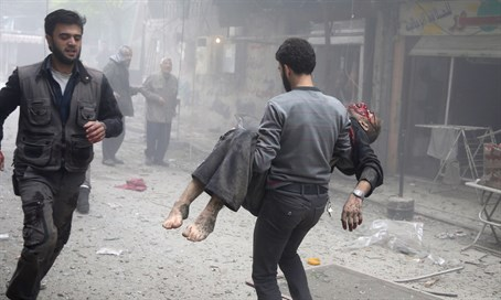Victim in previous attack on hospital in Douma