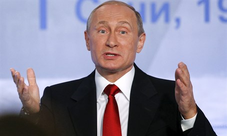 Just winging it? Russian President Vladimir Putin