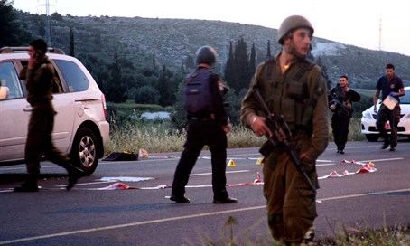 Terror attack near Hevron (archive)