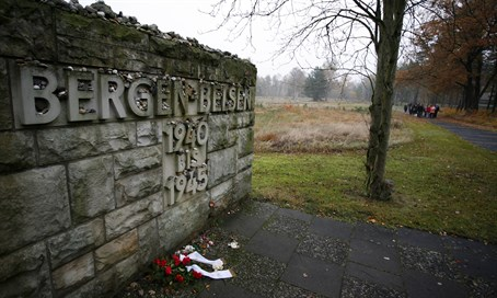 Bergen-Belsen Nazi death camp
