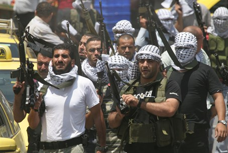 Fatah terrorists (file)