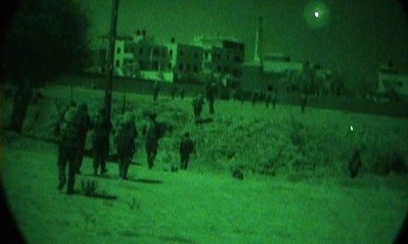 IDF forces through night vision