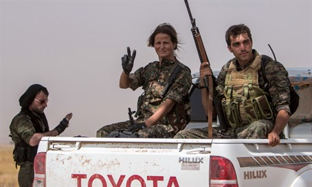 Kurdish fighters have played a crucial role in fighting ISIS
