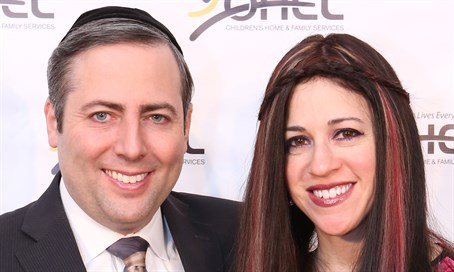 Rabbi Simcha and Chaya Feuerman