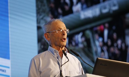 MK Benny Begin at Haaretz Conference
