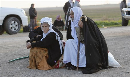 Yazidi refugees in Iraq