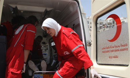 Red Crescent ambulance (archive)