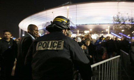 Stade de France after November bombings (file)