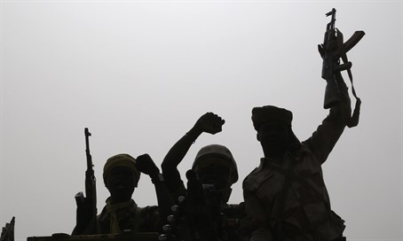 Chadian soldiers prepare to fight Boko Haram in Nigeria
