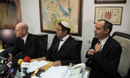 Lawyers Keidar, Ben-Gvir and Haber