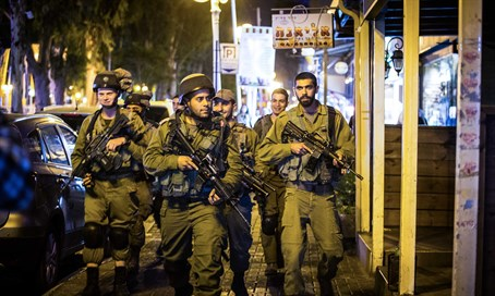 Modern-day Maccabees: IDF soldiers on patrol