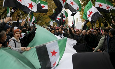 Syrian opposition flags (archive)