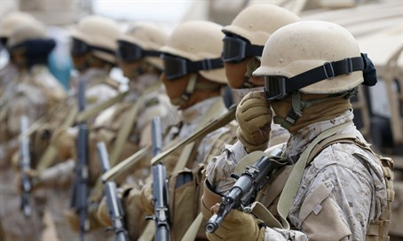 Saudi troops (file)