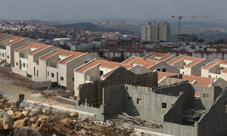 Construction in Ariel, Samaria