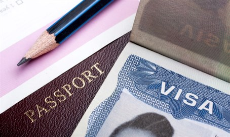 American passport and Visa