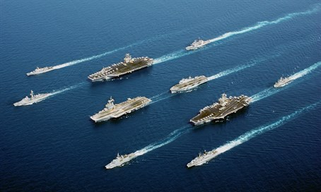 American warships (file)