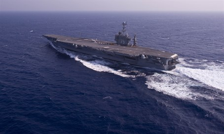 The USS Harry S. Truman aircraft carrier