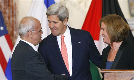 Israel-PA peace talks in 2013