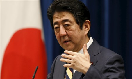 Shinzo Abe makes the first move