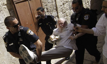 Jew arrested on Temple Mount (file)