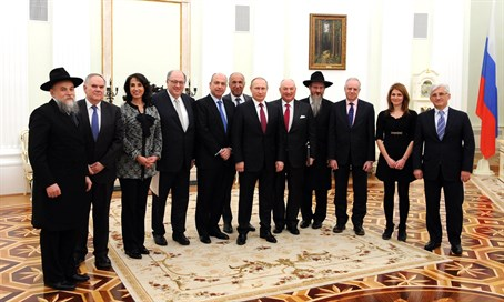 EJC delegation with Putin