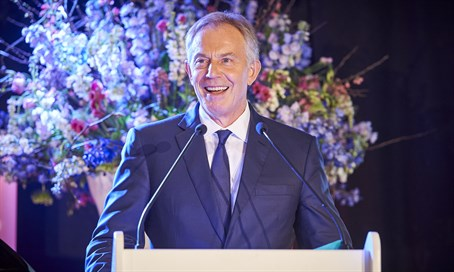 Tony Blair addresses European Jewish Congress