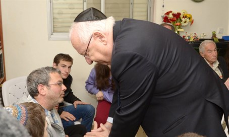 Rivlin with Krigman family