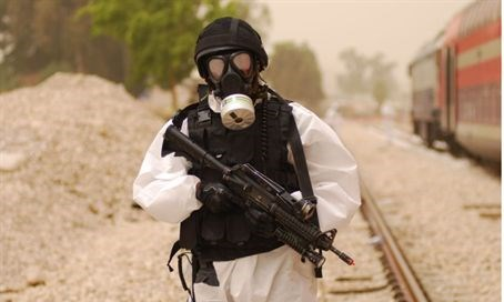 Chemical warfare (illustration)