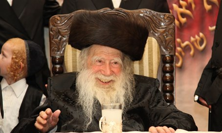 The Rebbe of Erlau