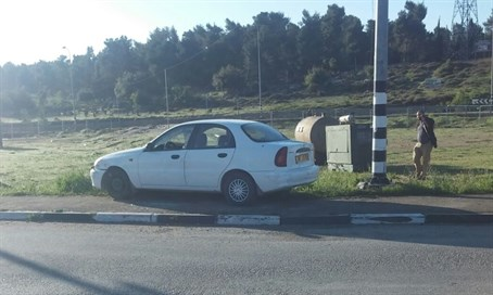 Car used in Gush Etzion Junction attack