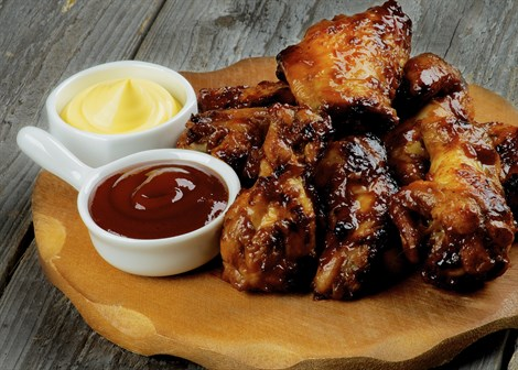 Chicken wings (illustrative)