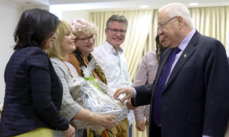 President Rivlin receives Lev HaOlam delegation